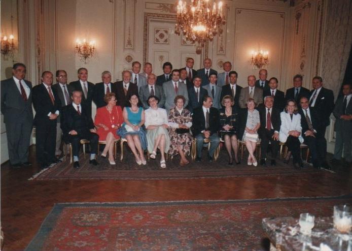Cena Anual de la Sociedad Científica de Chile ,realizada en