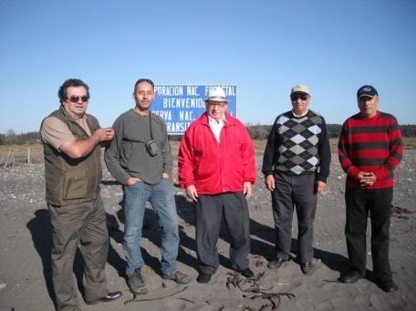 Borde Costero Santo Domingo y Humedal Yali – Chile 19/04/2012