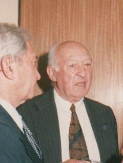 Dr. Félix Garay miembro de la SCCH, impulsor de la idea original de la construcción del puente sobre