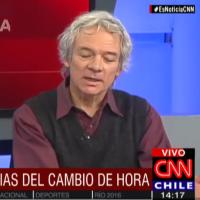 Entrevista CNN a John Ewer Lothian, Biólogo y Académico, CINV Universidad de Valparaíso